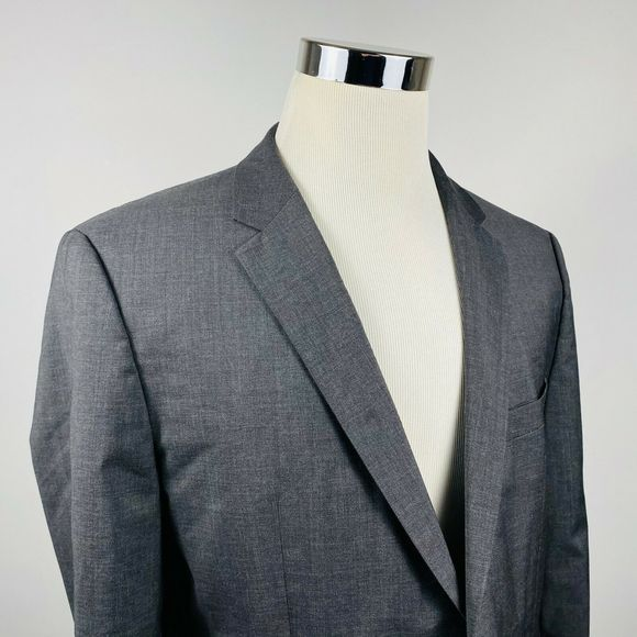 Hugo Boss Other - Hugo Boss 42R Grand Central US Sport Coat Gray